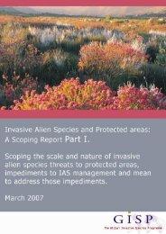Invasive alien species in protected areas - IUCN Invasive Species ...