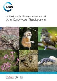 Guidelines for Reintroductions and Other Conservation Translocations