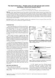 the Quail Island story - IUCN Invasive Species Specialist Group