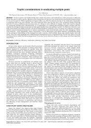 S. A. Morrison - IUCN Invasive Species Specialist Group