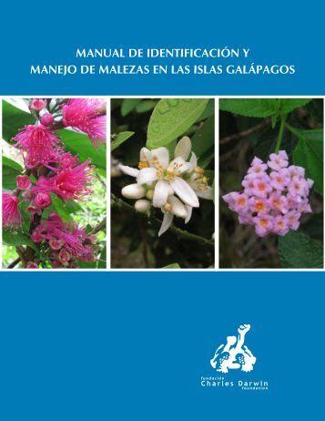 Manual de IdentIfIcacIón y Manejo de Malezas en las Islas galápagos