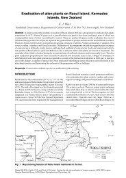Eradication of alien plants on Raoul Island, Kermadec Islands, New ...