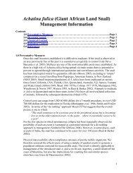 Management Information - IUCN Invasive Species Specialist Group