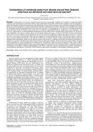 D. R. Towns - IUCN Invasive Species Specialist Group
