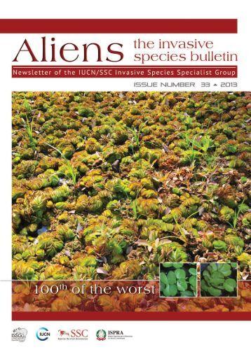 Issue 33- Aliens - IUCN Invasive Species Specialist Group