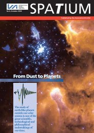 From Dust to Planets - ISSI