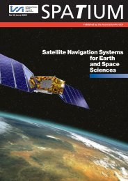 Satellite Navigation Systems for Earth and Space Sciences - ISSI