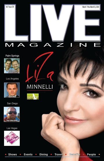 LIVE Magazine Vol 7, Issue #178 March 7th thru March 21