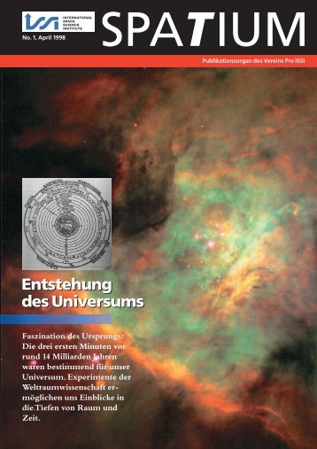 Entstehung des Universums Entstehung des Universums - ISSI