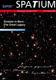 Einstein in Bern: The Great Legacy - ISSI
