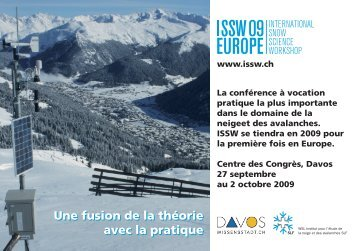 Flyer - ISSW