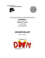 gesamtablauf - Institut für Sport und Sportwissenschaft - Ruprecht ...