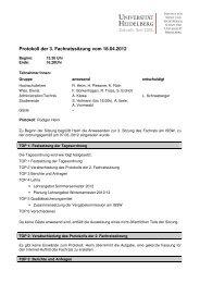 3. Sitzung vom 18.04.2012 (PDF) - Institut für Sport und ...