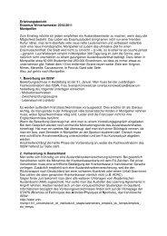 Erfahrungsbericht Erasmus Wintersemester 2010/2011 Montpellier ...