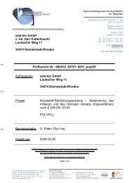 seal-tec POLYFILL (Dr. Sebastian Kippverfahren E DIN - Ist-web.com