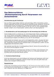 Das Betonverfahren -Stutzensanierung durch ... - Ist-web.com
