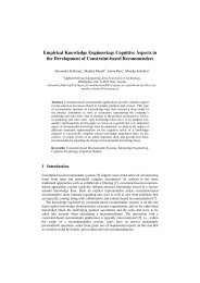 Empirical Knowledge Engineering: Cognitive Aspects in the ...