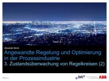Angewandte Regelung und Optimierung in der ... - uni-stuttgart