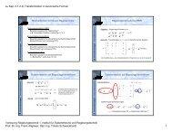 zu Kap. II.1.2 d) Transformation in kanonische Formen ... - uni-stuttgart