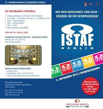 Download Flyer - ISTAF Berlin