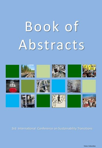 Book of Abstracts - IST2012