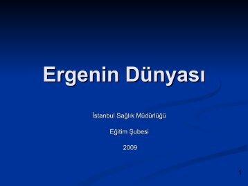 Ergenin Dünyası - İstanbul İl Sağlık Müdürlüğü