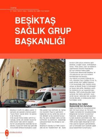 Beşiktaş Sağlık Grup Başkanlığı