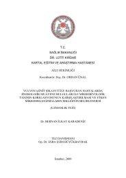 T.C. SAĞLIK BAKANLIĞI DR. LÜTFİ KIRDAR KARTAL EĞİTİM VE ...