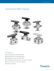 Instrument Ball Valves, 40 Series (MS-01-60, R7)