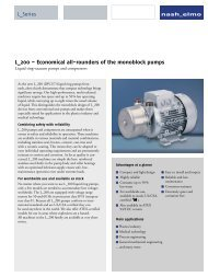 L_200 – Economical all-rounders of the monoblock pumps