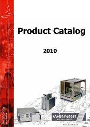 6U VME 6023 Crate Series