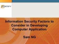 Presentation file - JUCC Information Security Task Force