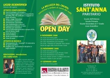 LICEO SCIENTIFICO - Istituto Sant'Anna