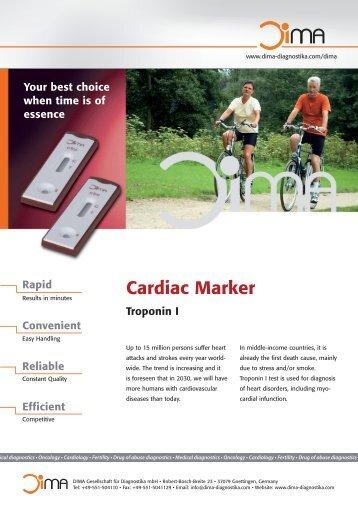 DIMA Cardiac Marker Flyer (pdf) - Dima Gesellschaft für Diagnostika ...