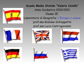 Laboratorio di Geografia: L'Europa ci unisce - istituto comprensivo ...