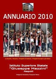 Annuario Mazzini 2010 14 Maggio - Istituto Superiore Mazzini Napoli