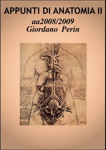 """APPUNTI DI ANATOMIA II - Istituto Comprensivo """"G. Palatucci"""""""