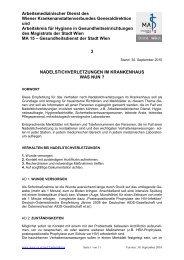 Arbeitsmedizinischer Dienst des Wiener - Wien