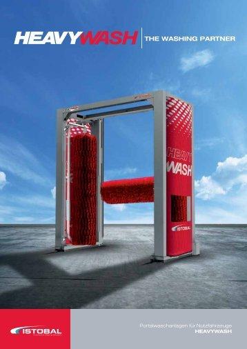 Portalwaschanlagen für Nutzfahrzeuge HEAVYWASH - Istobal