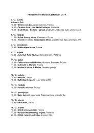 PROSINAC U GRADU/DICEMBRE IN CITTÀ 5. 12., subota ... - Istra