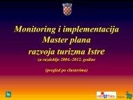 Najznačajniji turistički projekti Istre - Istra