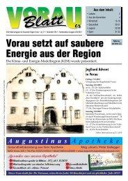Vorau setzt auf saubere Energie aus der Region - Steiermark ist super