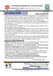 20 Jahre KMB - Steiermark ist super
