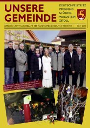 gemeinde deutschfeistritz prenning stübing waldstein ... - istsuper.com