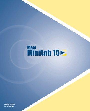 Meet Minitab 15 - Rohan