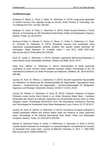 Complete Publication List