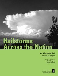 Hailstorms Across the Nation - Illinois State Water Survey