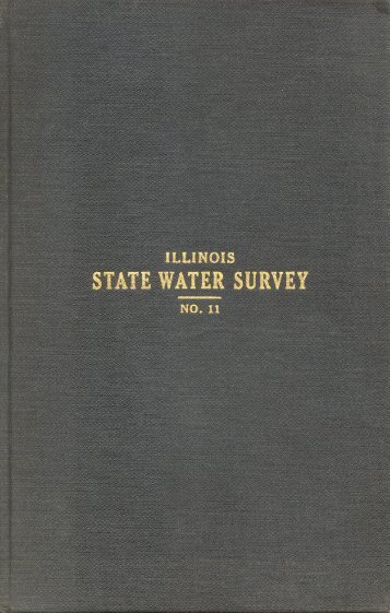 Chemical and Biological Survey of the Waters of Illinois