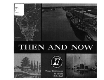 Then and Now : Water Resources in Illinois, 1818-1968