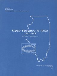 Climate Fluctuations in Illinois 1901-1980 - Illinois State Water Survey